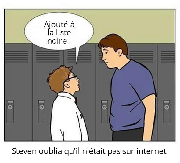 Aie.. coup dur pour Steven - meme