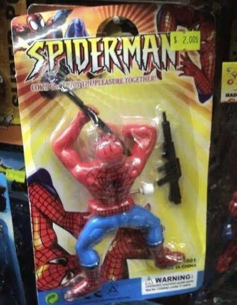 Spiderman Pistola - meme