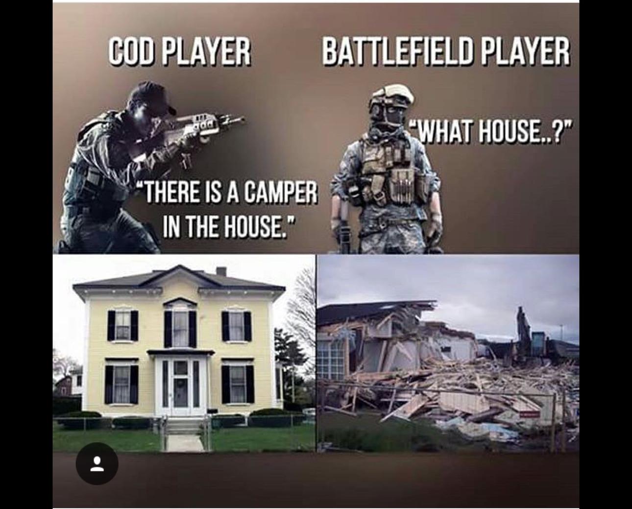 I like Play Battlefield And Im confused - meme