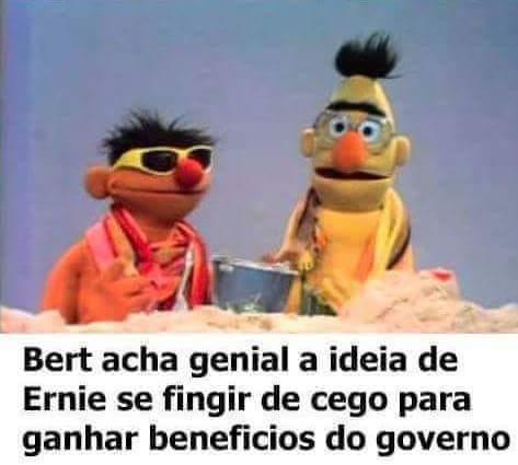 Bert e Ernie - meme