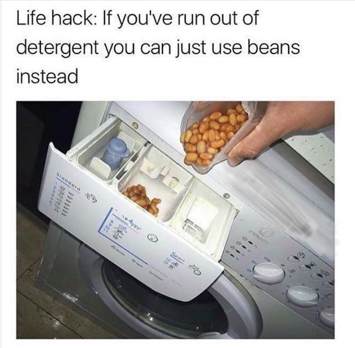 love me some beans! - meme