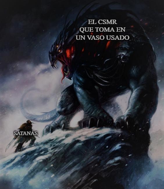 El título no influye nada con el meme.