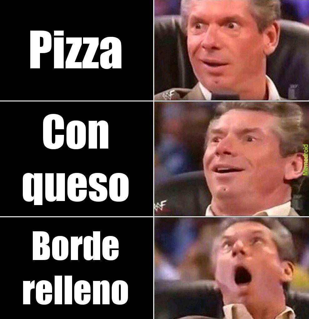 Quiero pizza - meme