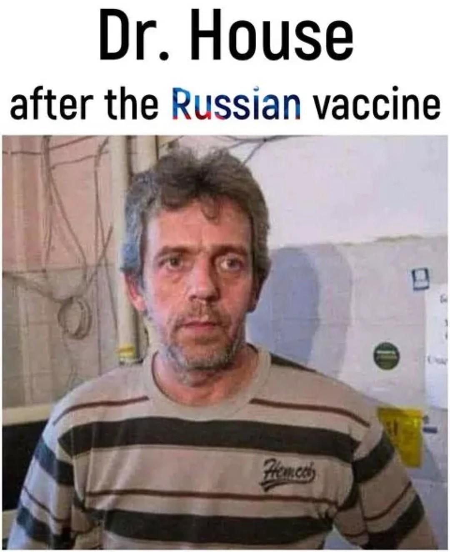 Russian Dr. House - meme