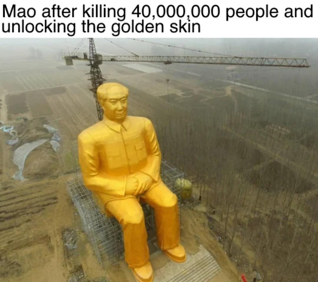 The Supreme Gold Skin - meme