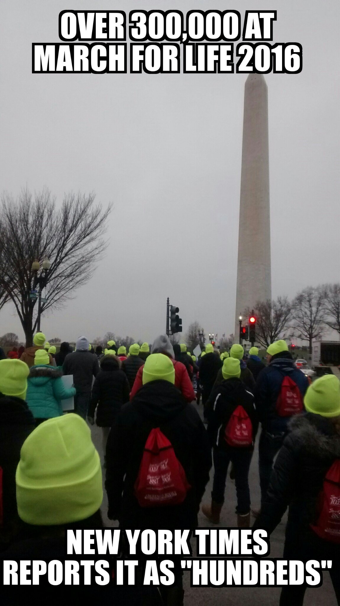 Thats a third of usual turn out, were in the same group walking to start, i was there - meme