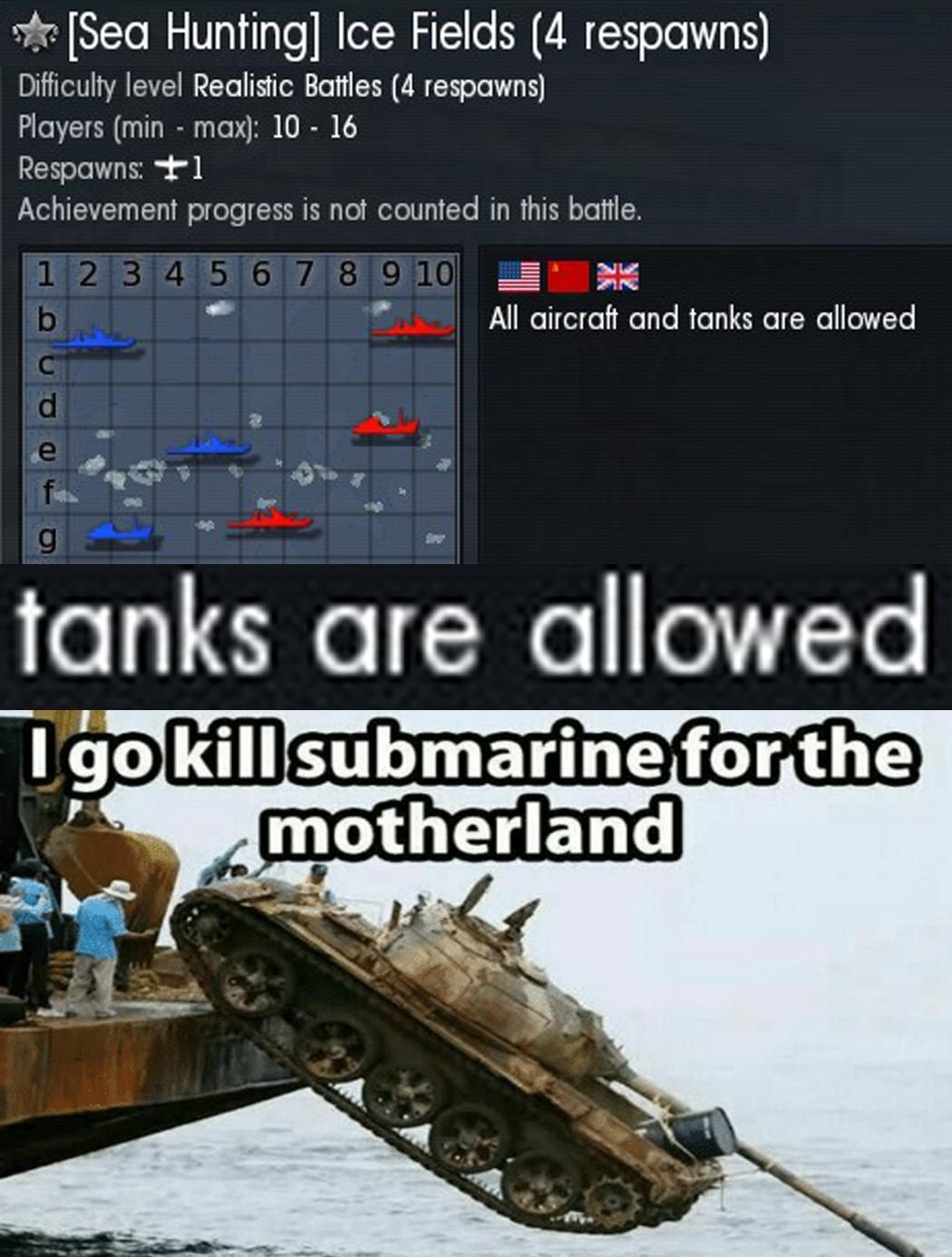 ZA STALINA (warthunder) - meme