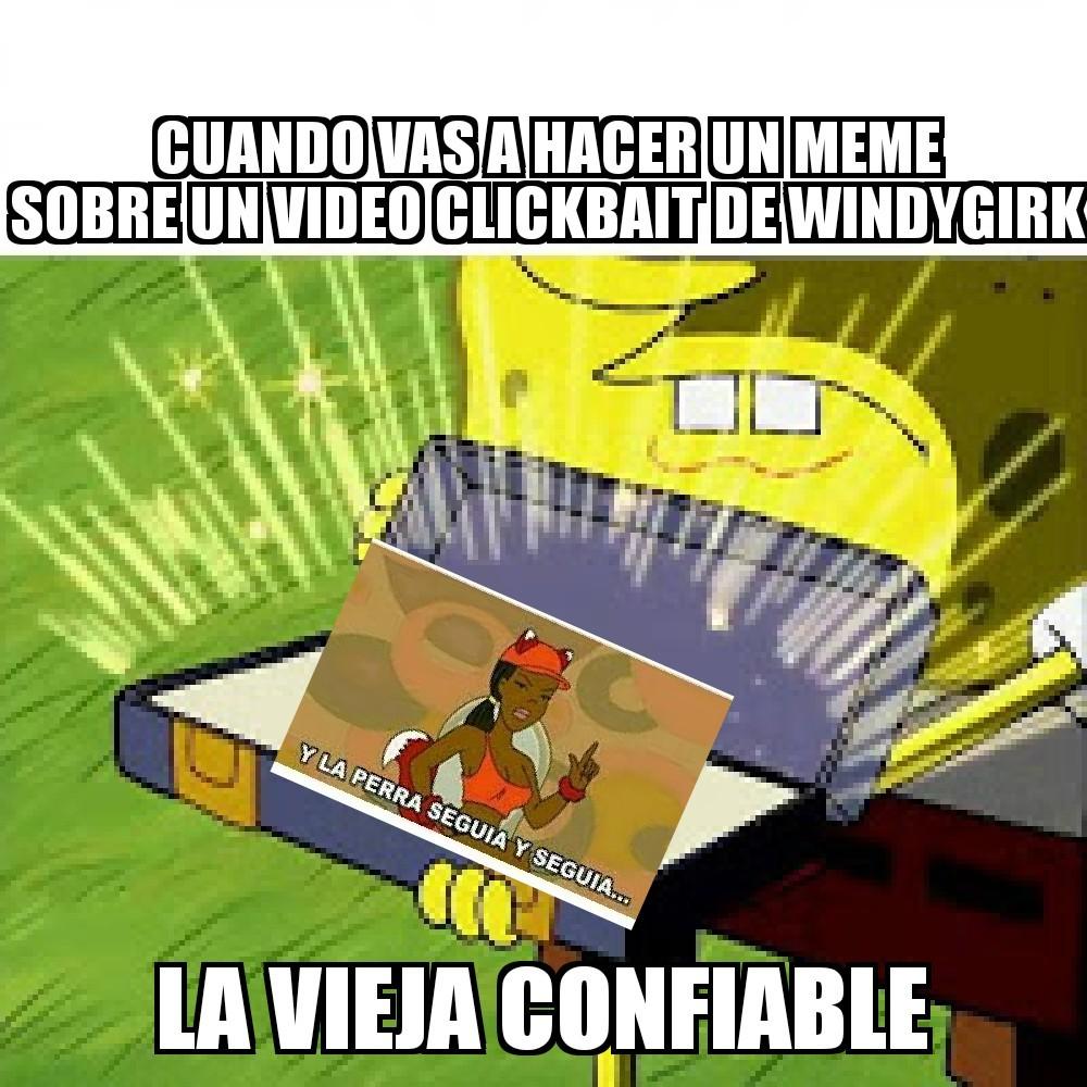 Windy - meme
