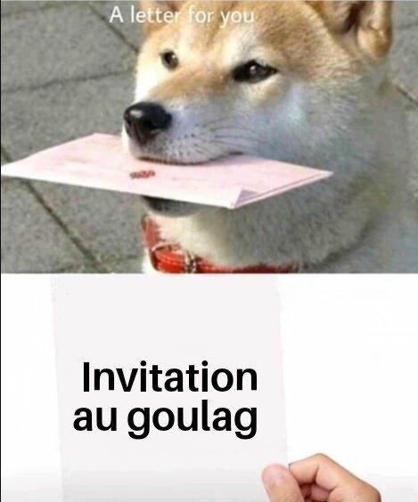 Une lettre pour toi - meme