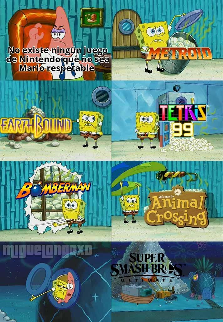 En especial Metroid :son: - meme