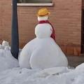 THICC ASS SNOWMAN