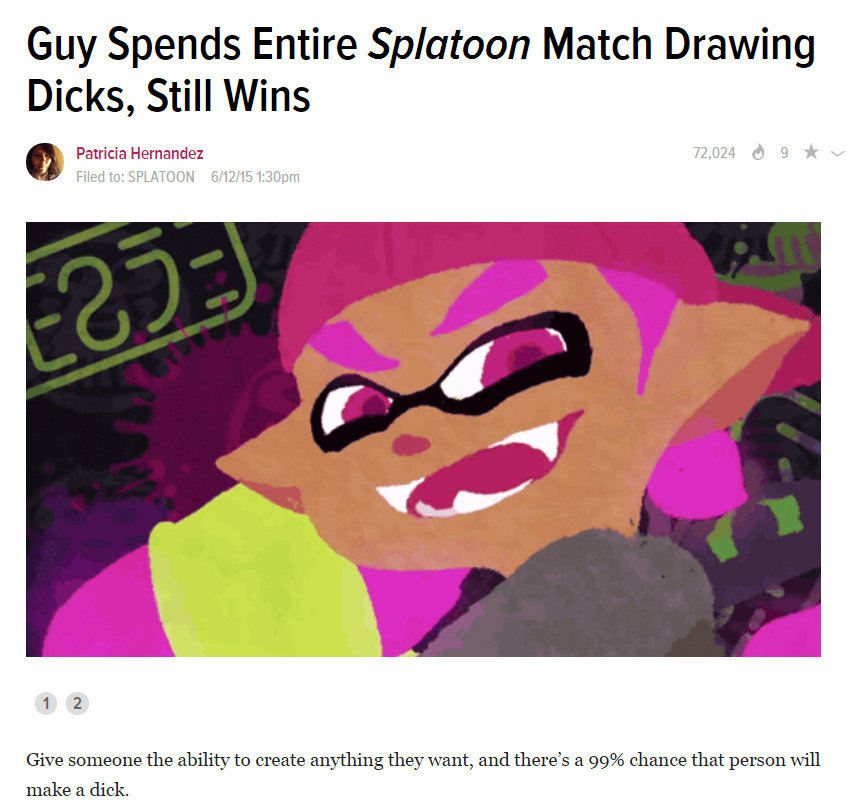 That is skill, would you want an inkling in super smash bros? - meme
