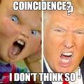 Trump vs Chucky qui gagne ?