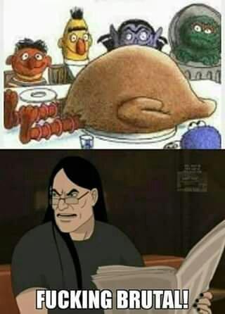 Damn that's dark - meme