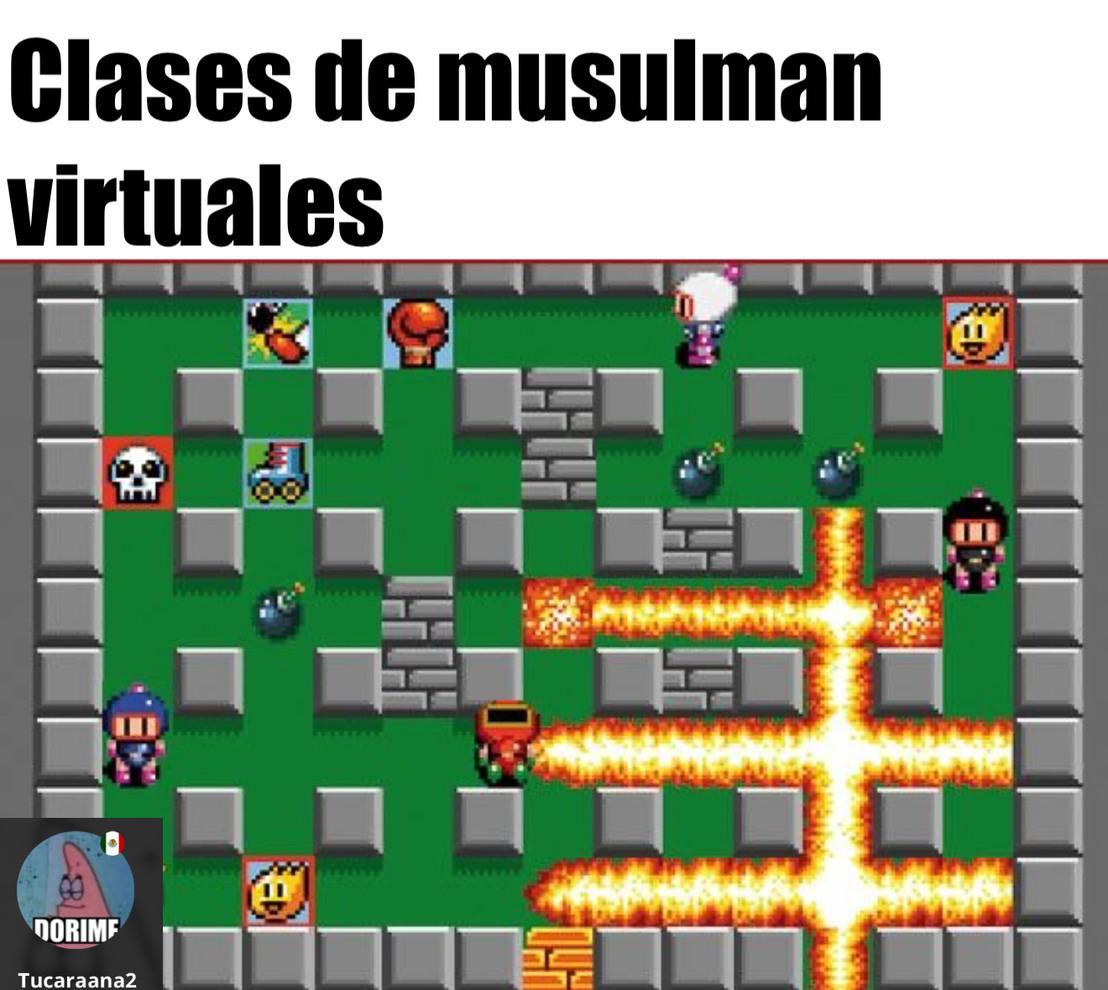 Los musulmanes - meme