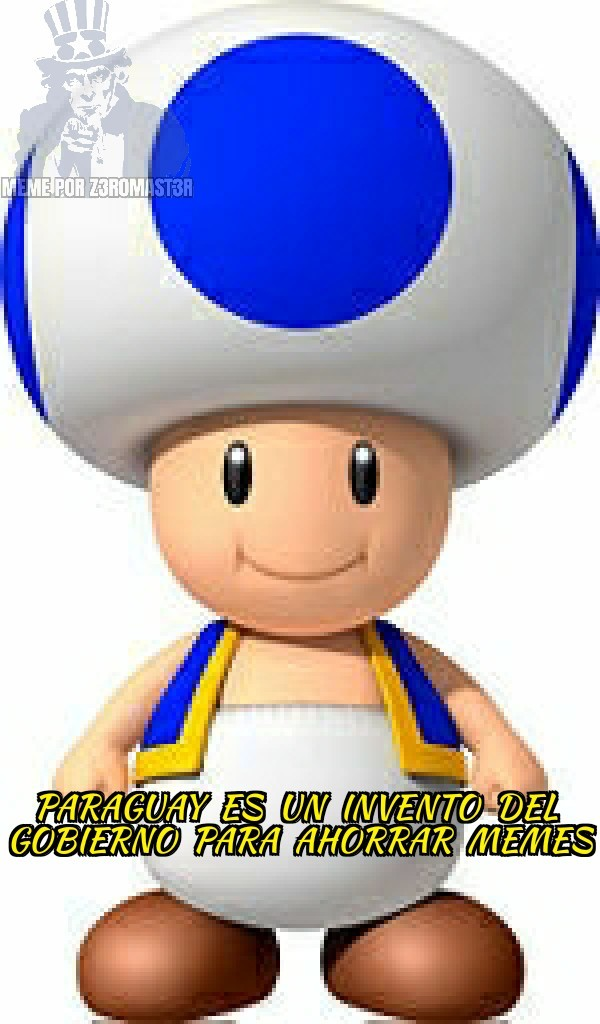 Toad Azul Says: - meme
