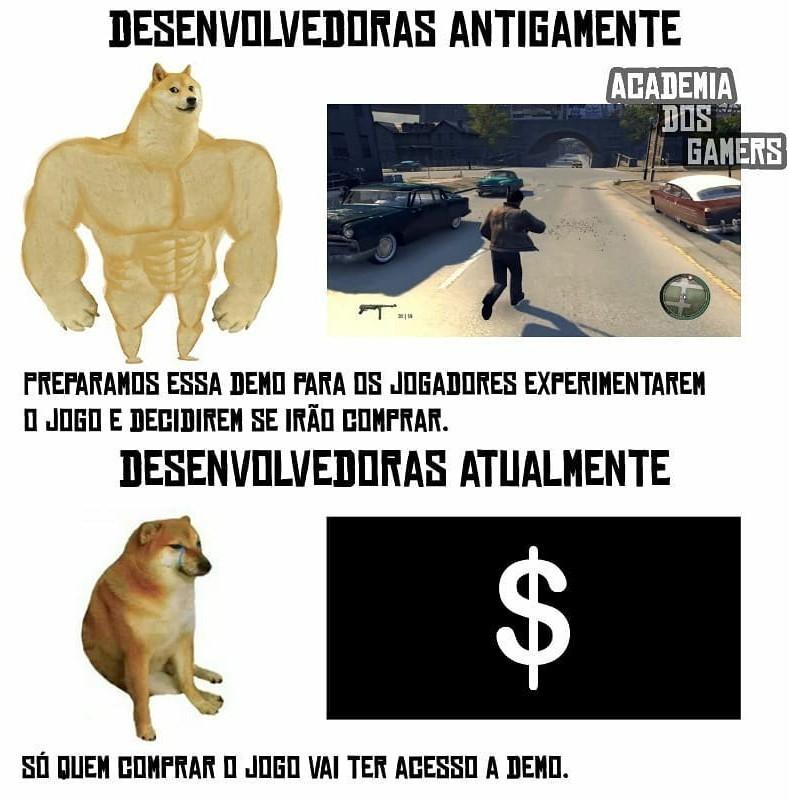 Creditos a Academia de Games! - meme