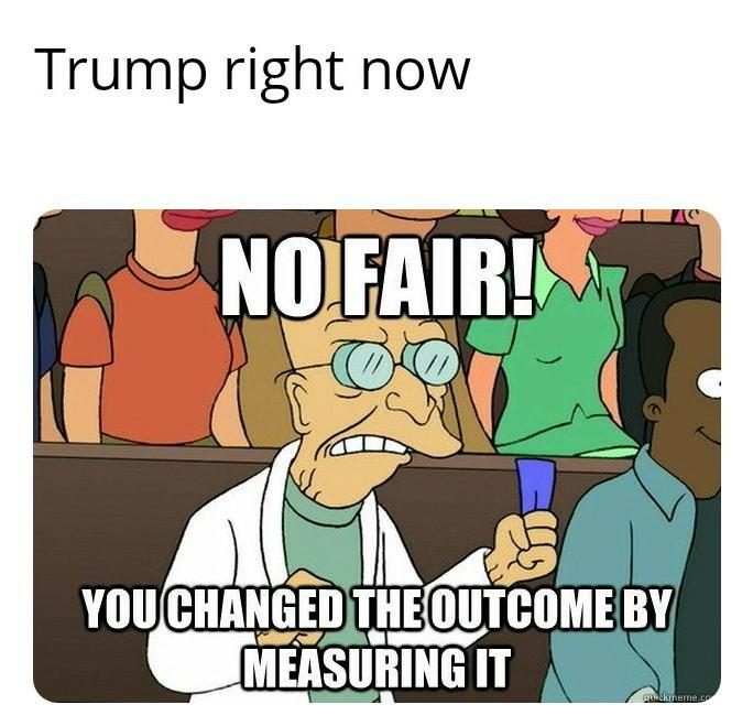 Sore loser playground tactics - meme