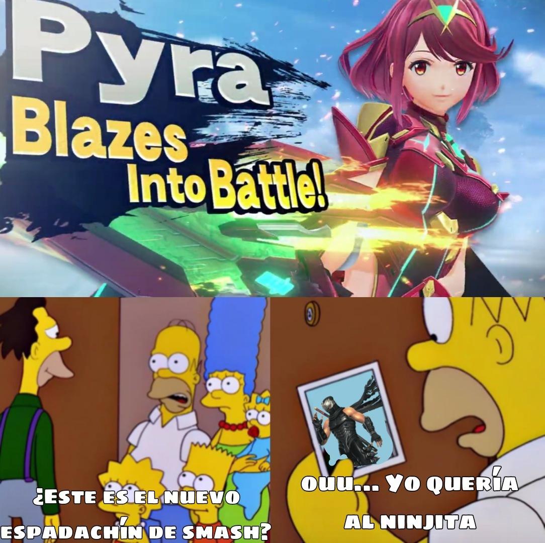Creo que tanto Pyra como Sephiroth son contenido recortado - meme