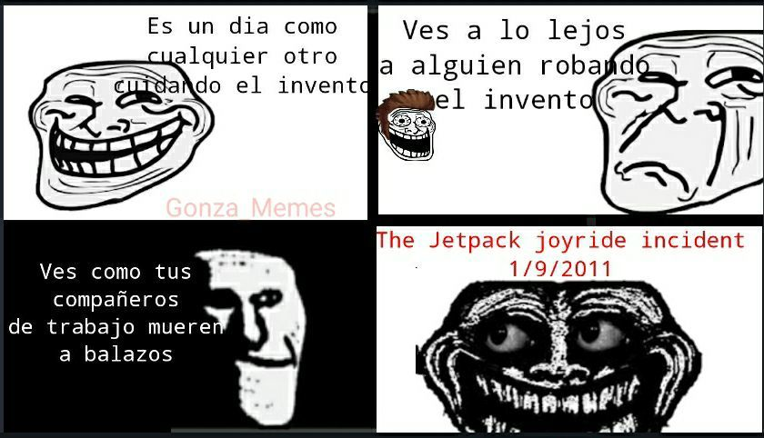 El incidente - meme