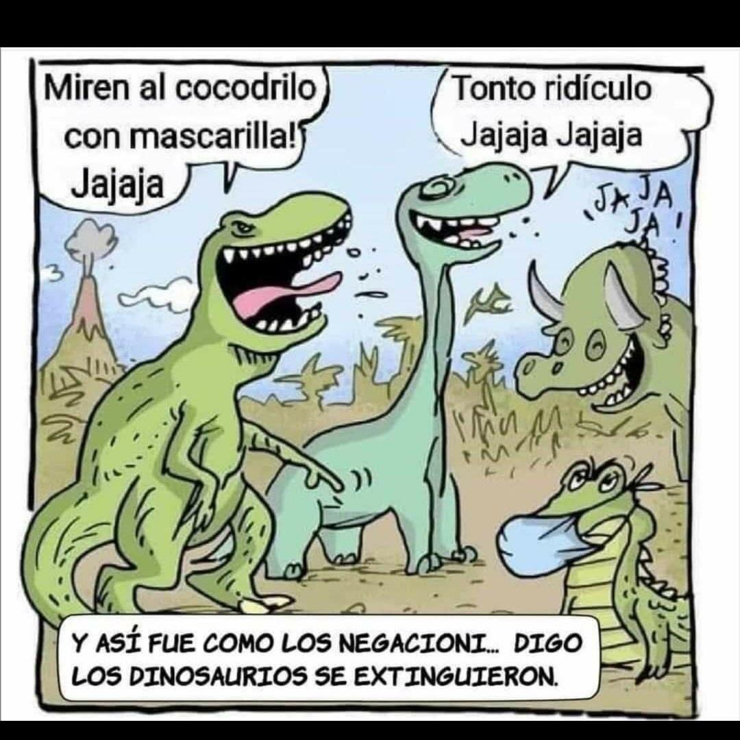 Ptos negacio... Digo dinosaurios - meme