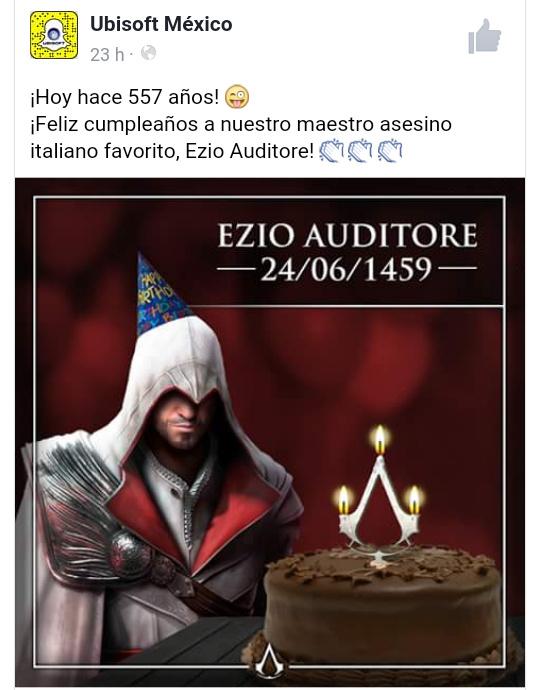Felicidades Ezio - meme