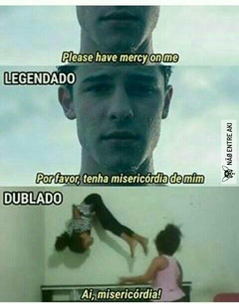 misericórdia - meme