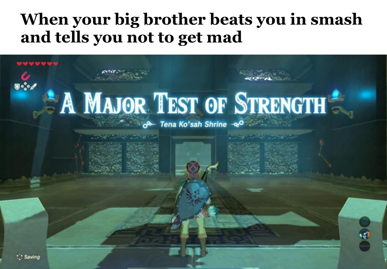 A MAJOR test - meme