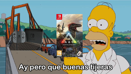 el ark switch mata a la switch - meme