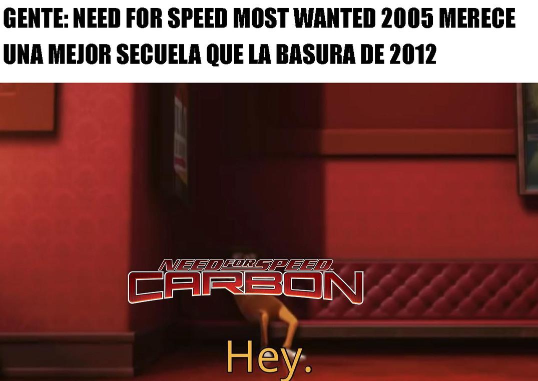 Todos se acuerdan del de 2012 pero nadie toma en cuenta que la verdadera secuela era el Carbono - meme