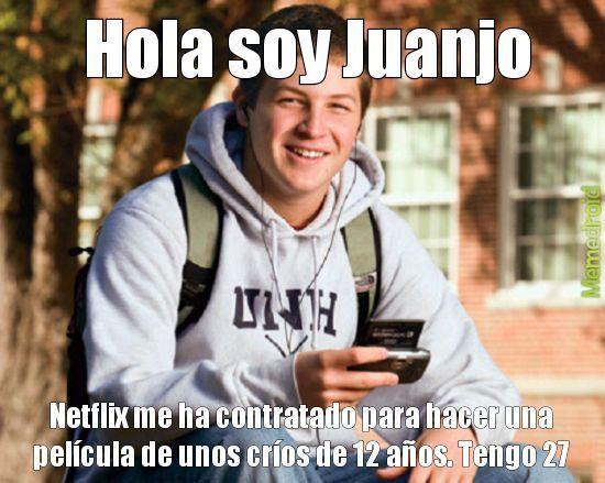 HOLA SOY JUANJO - meme