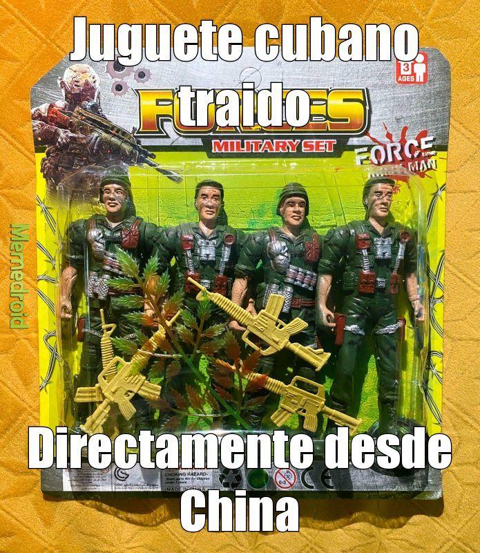 Los juguetes en Cuba: - meme
