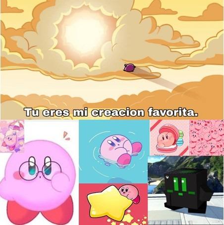 Kirby es lo mejor - meme
