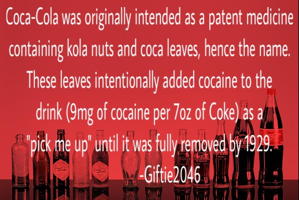 literaly was coke - meme