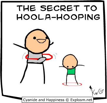 Holla hoop - meme