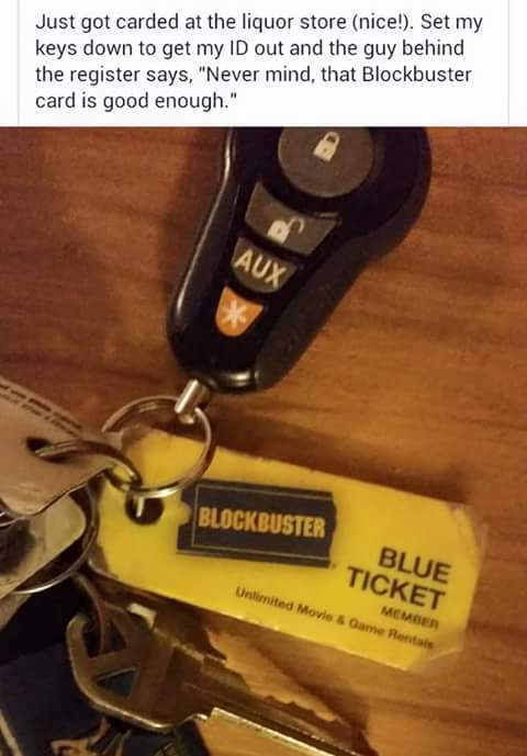 Who remember blockbuster?! - meme