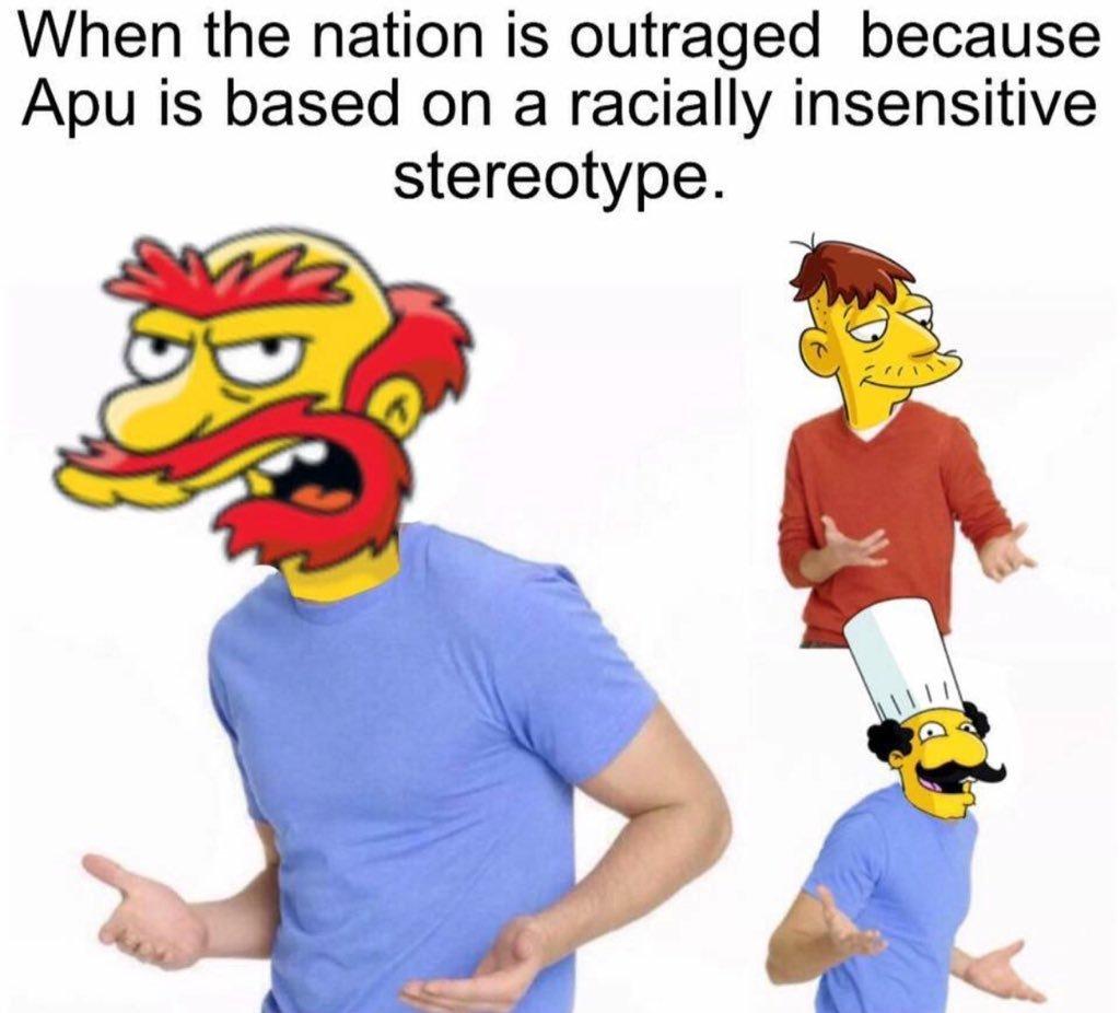 Fucking selective outrage - meme