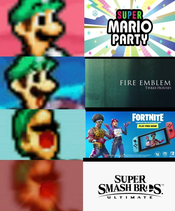 E3 Nintendo 2018 - meme