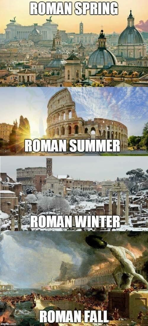 The Roman Seasons - meme