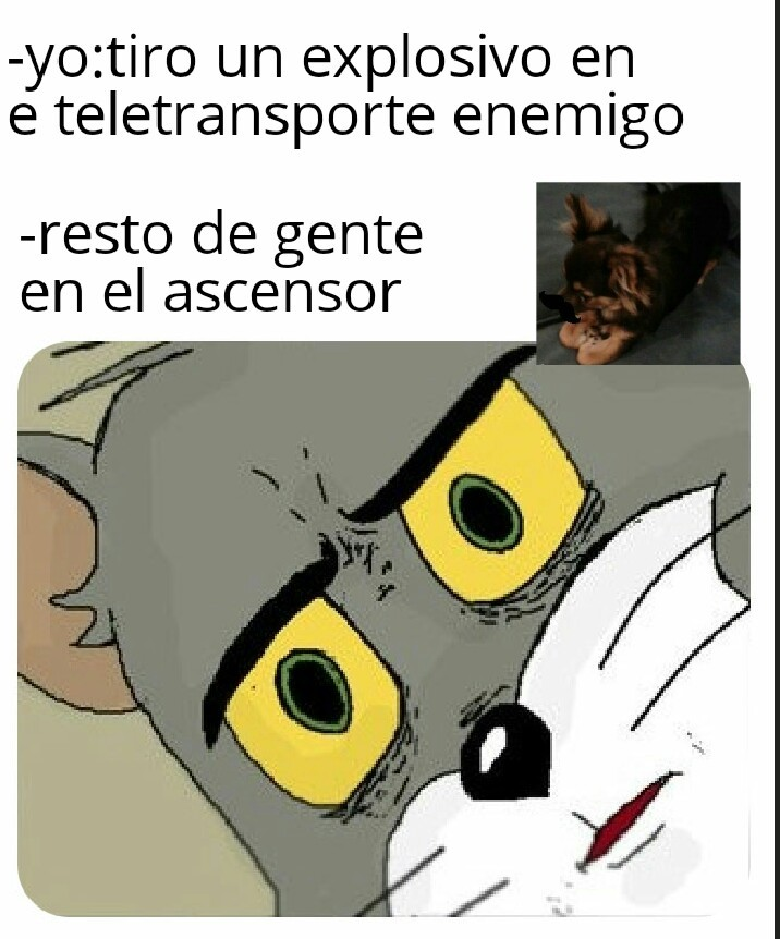 Asensor bomba - meme