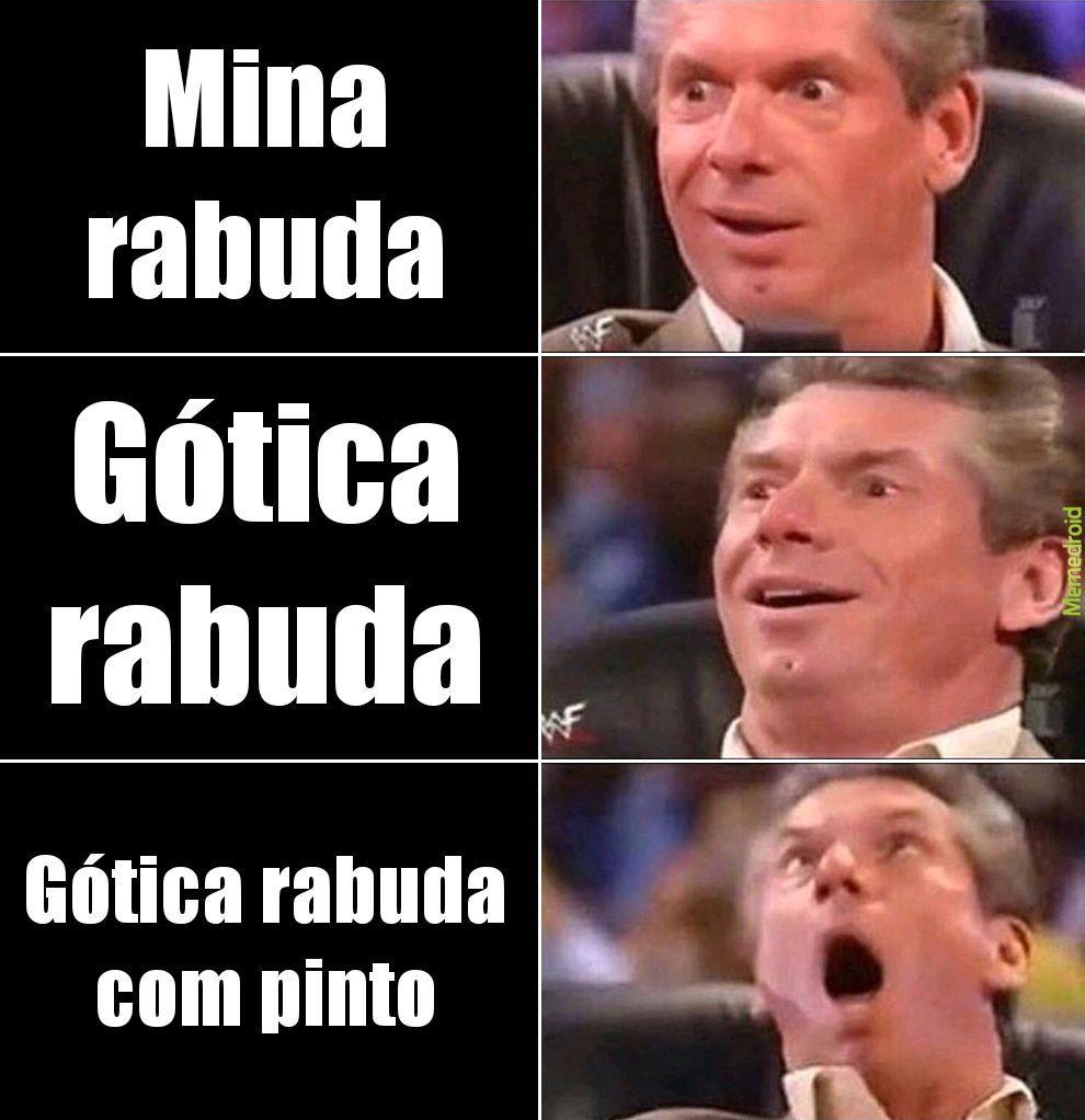 Góticas - meme