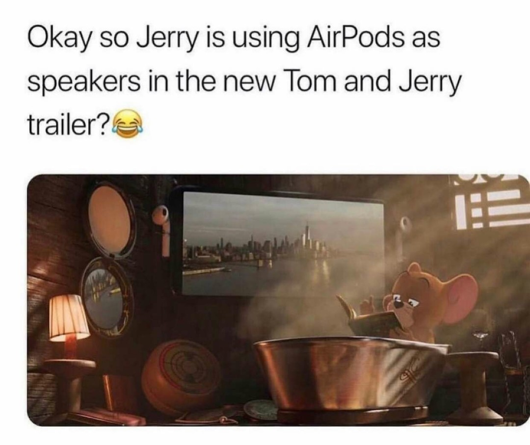 Jerry have some experience tastes - meme