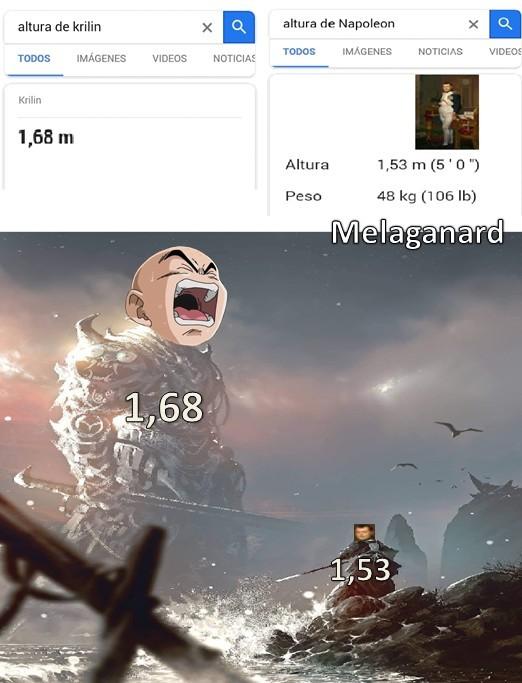 Es edit, Napoleon es mas alto - meme