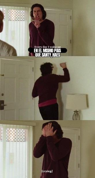 Que vergüenza - meme