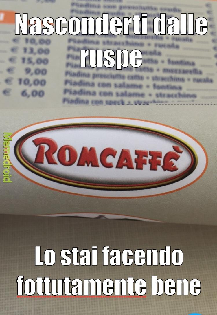 Rom-Caffe - meme
