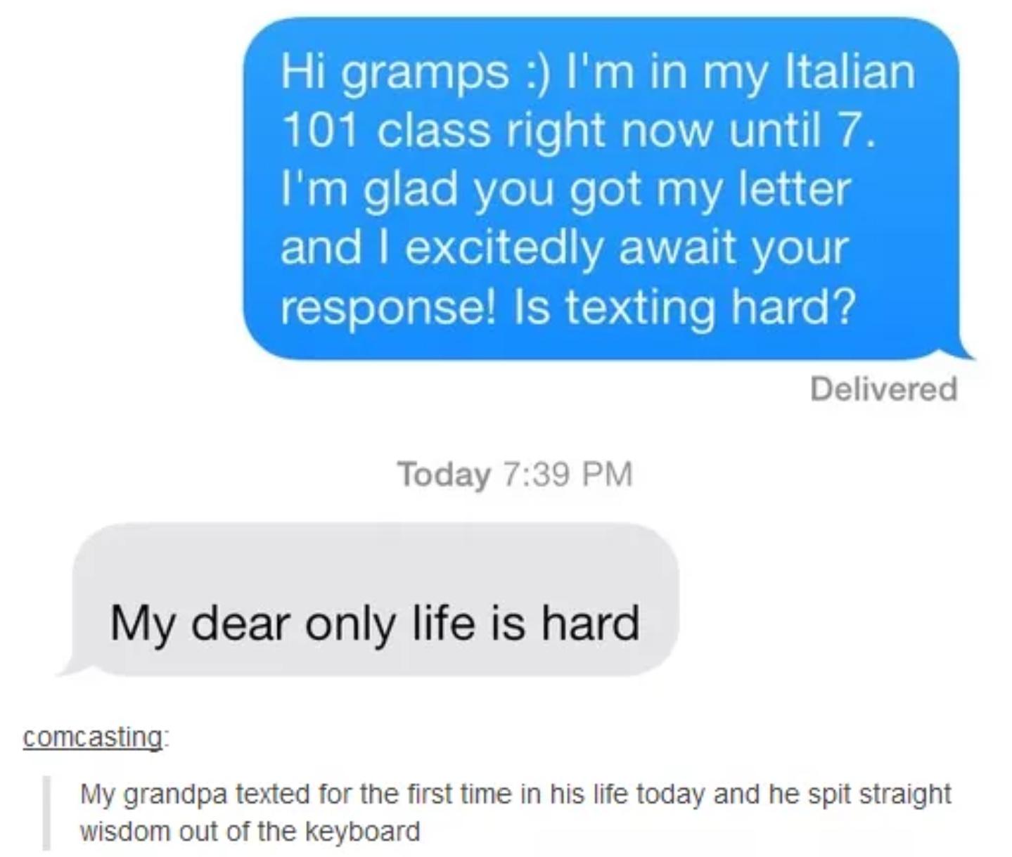 Gramps - meme