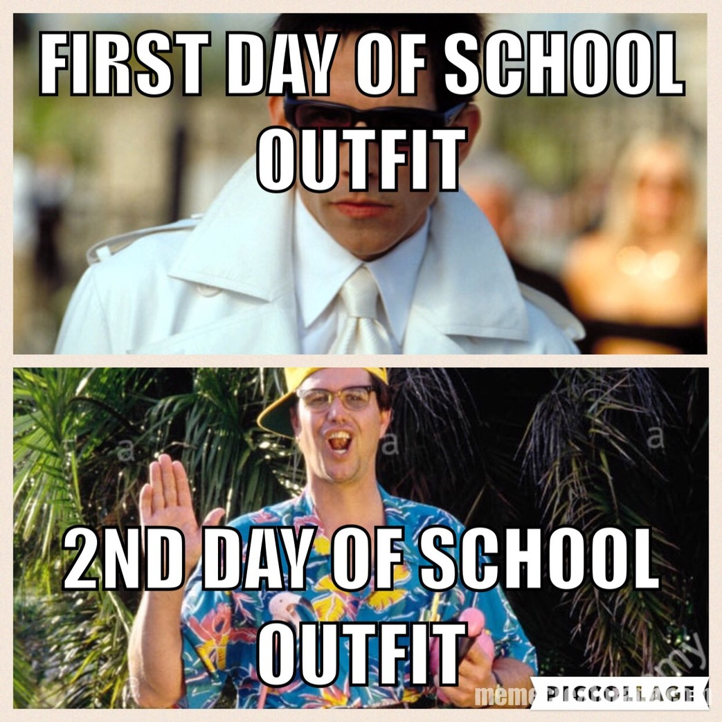 School outfits - Meme by joeysnyder ) Memedroid