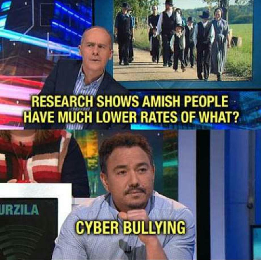 Hahahahahahahaha How The F*ck Is Cyber Bullying Real Hahahaha Nigga Just Walk Away From The Screen Like Nigga Close Your Eyes Haha - meme