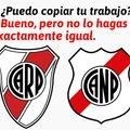 El de la izquierda es River Plate (Argentina) y el de la derecha es Nacional Potosí (Bolivia)