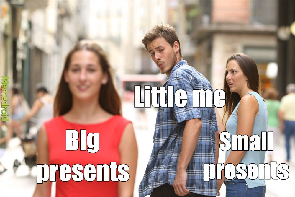Was always a small box in a bigger box - meme
